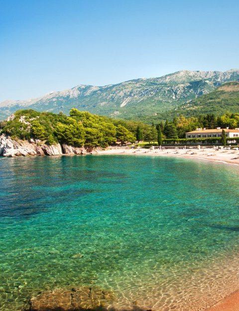 Пляж в Чорногорії